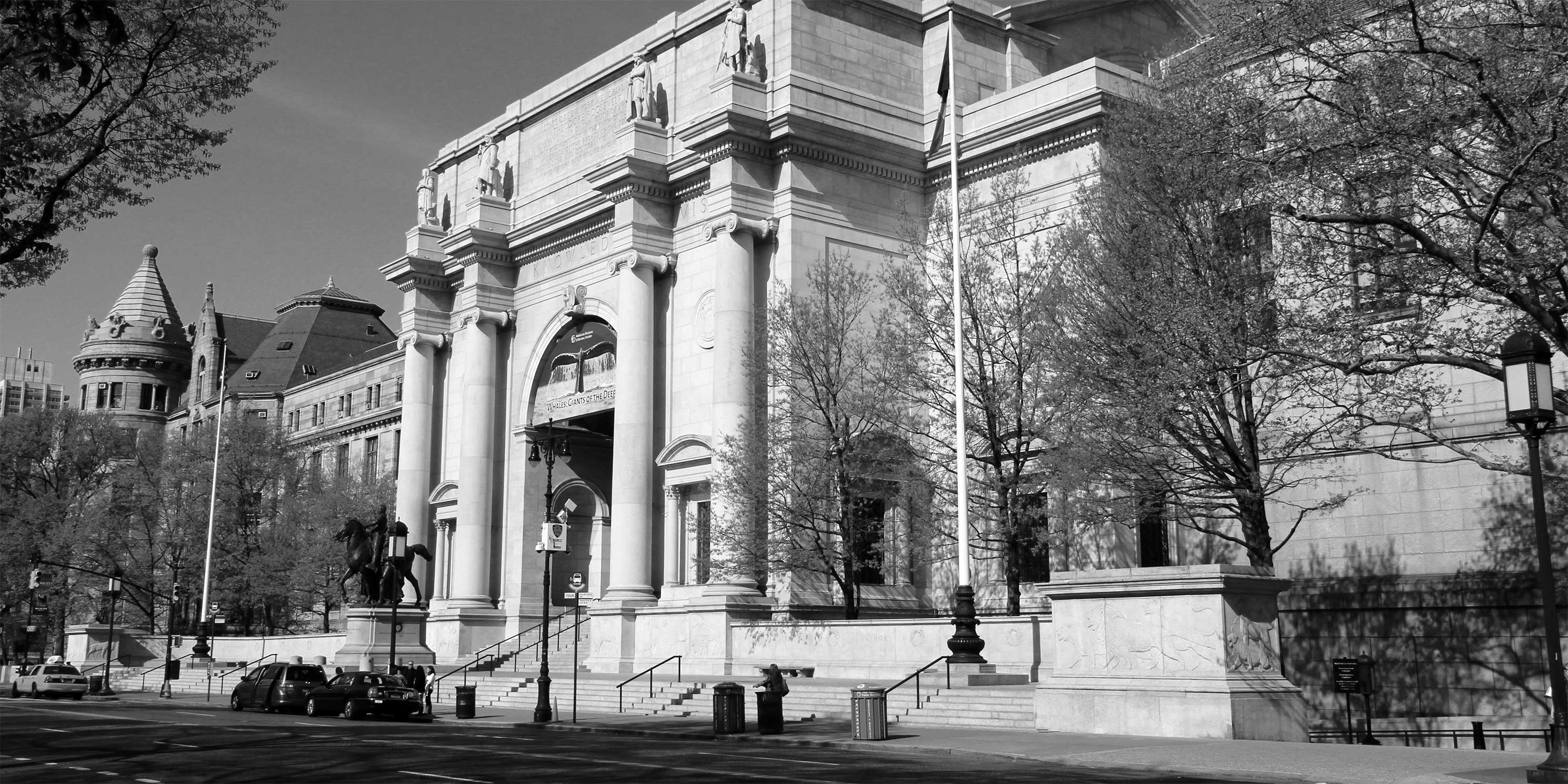 Front entrance to the American Museum of Natural History in Manhattan. Photo: Wikimedia Commons, Ingfbruno.