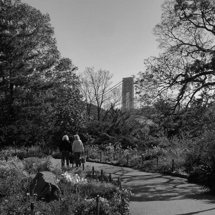 The Heather Gardens at Fort Tryon Park. Photo: Wikimedia Commons, Lionel Martinez.