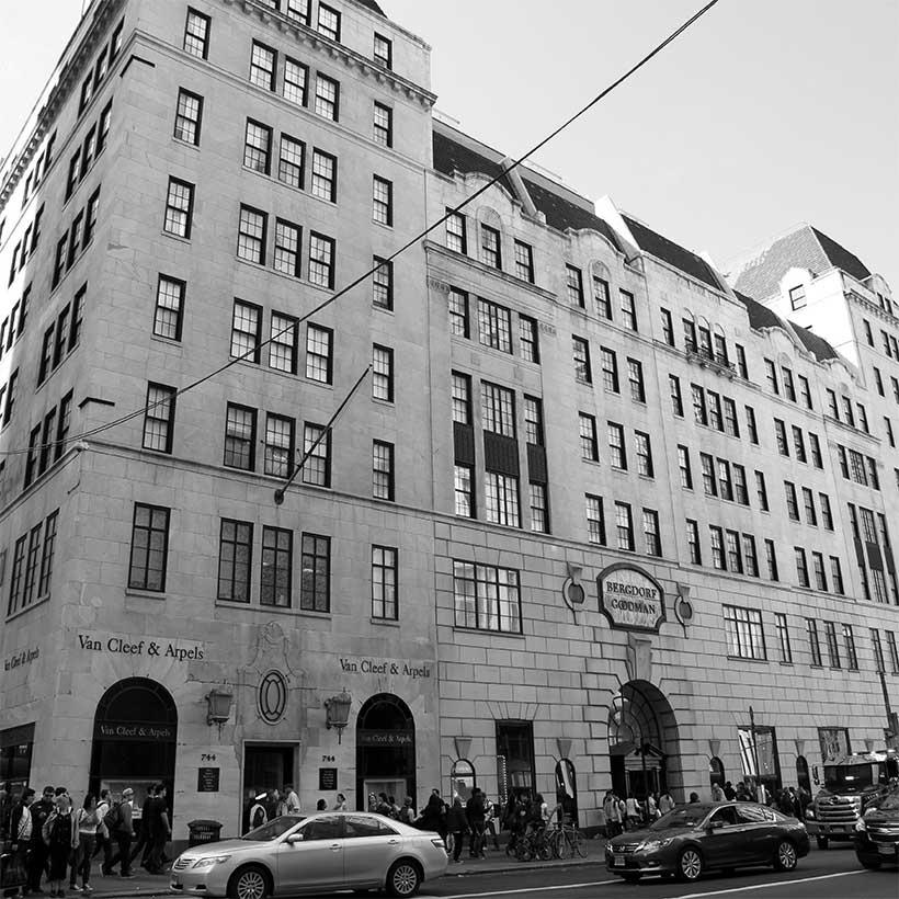 The Bergdorf Goodman store on Fifth Avenue in Manhattan. Photo: Wikimedia Commons, Ingfbruno.