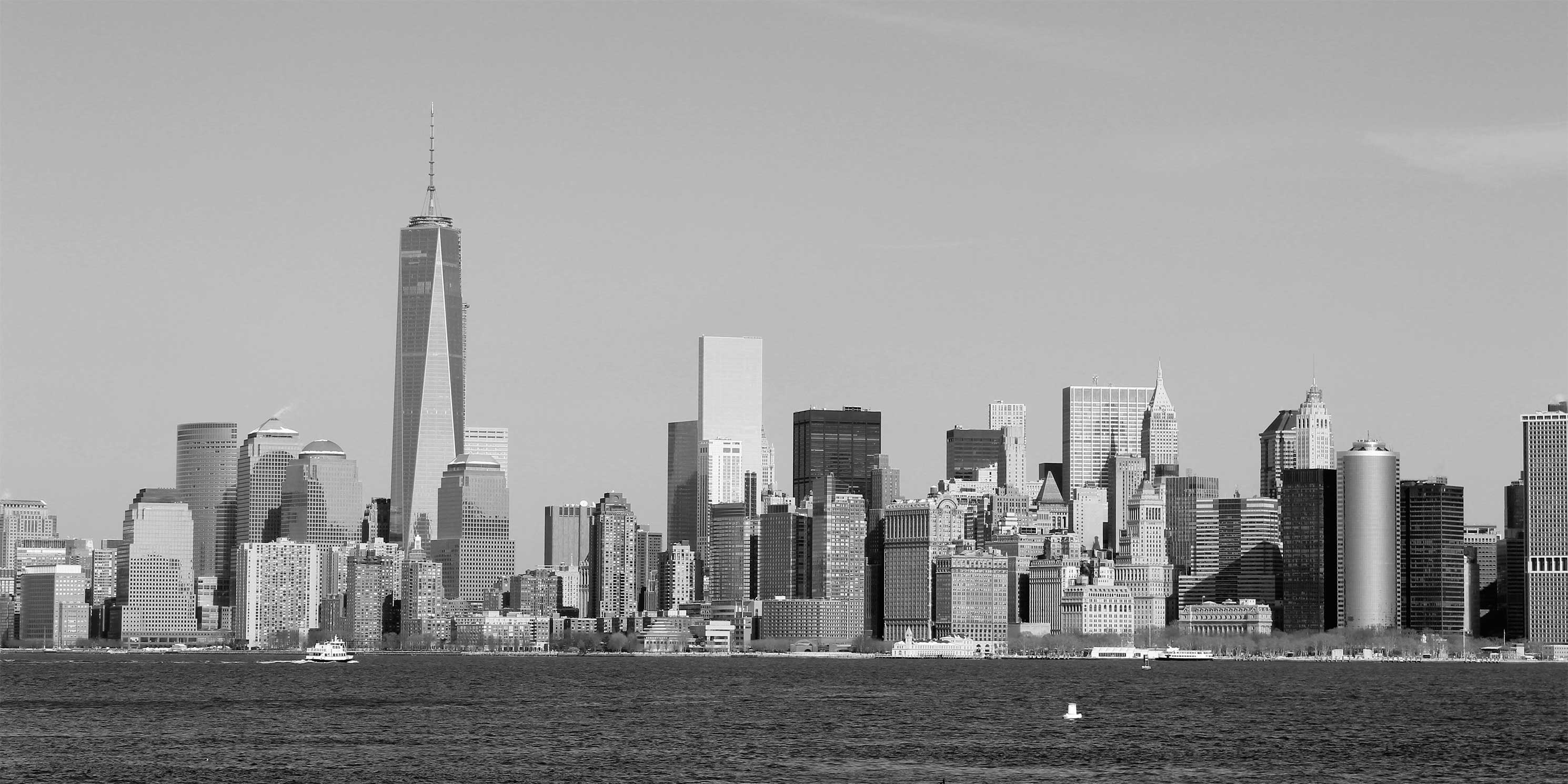 The Manhattan Skyline. Photo: Wikimedia Commons, Lesekreis.