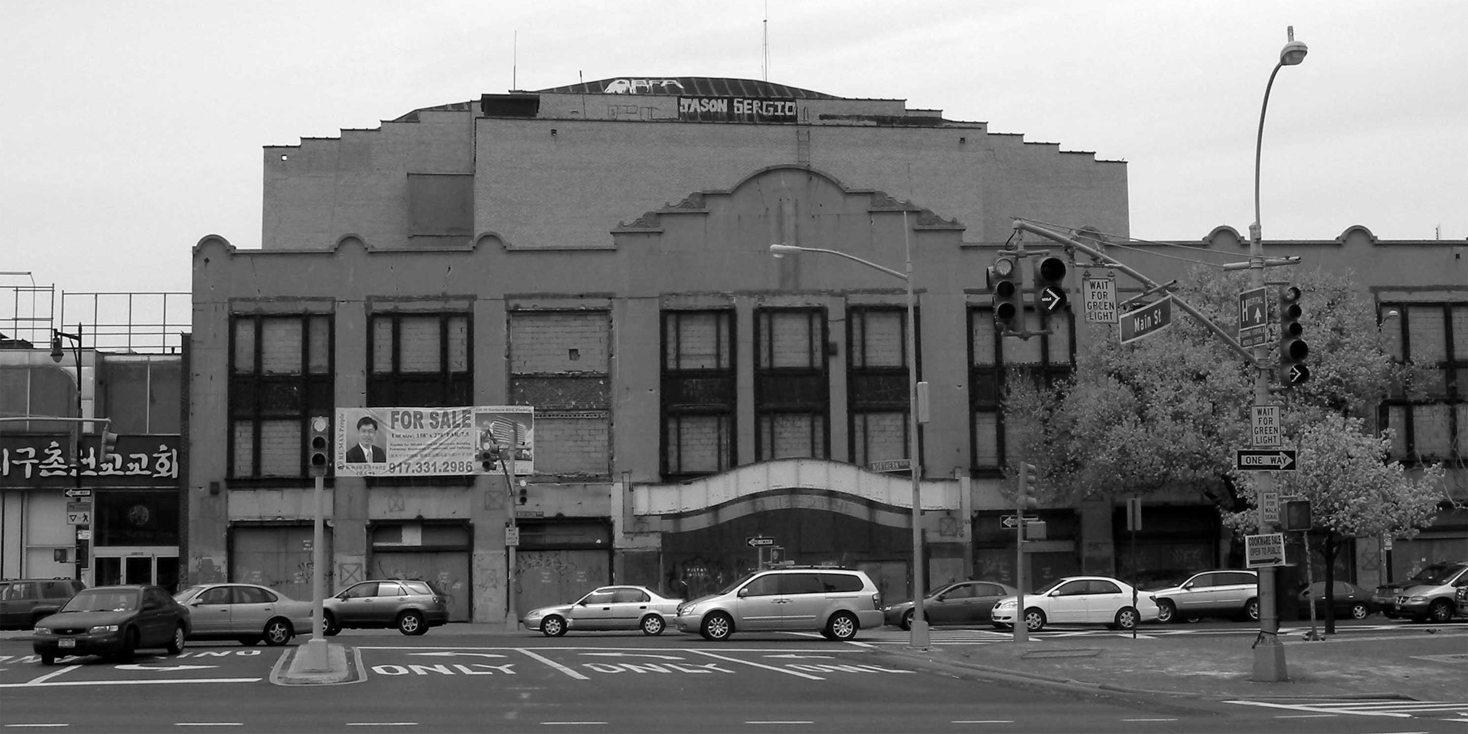 The RKO Keith's Flushing Theater. Photo: Wikimedia Commons, Jim Henderson.