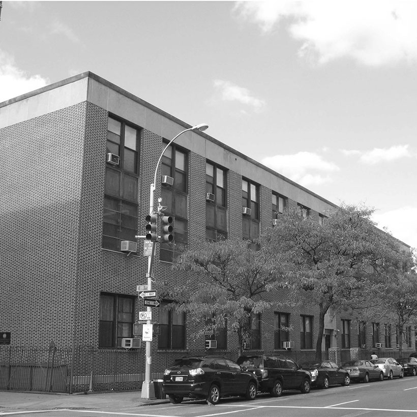 The James Fenimore Cooper School at 119th Street and Madison Avenue in East Harlem. Photo: Wikimedia Commons, Jim Henderson.