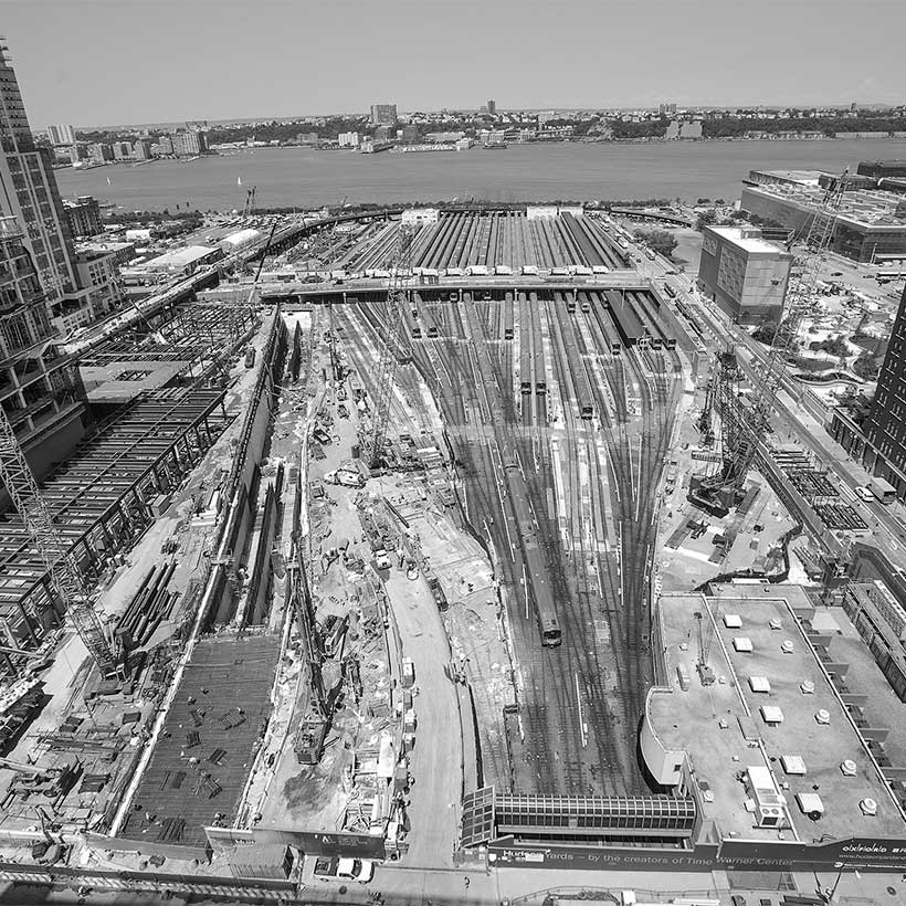 Construction of a future Gateway Program tunnel portal at West Side Yard in Manhattan. Photo: Wikimedia Commons, Metropolitan Transportation Authority of the State of New York.