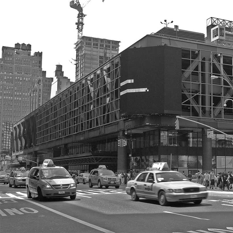 The Port Authority Bus Terminal in Manhattan. Photo: Wikimedia Commons, Rob Young.