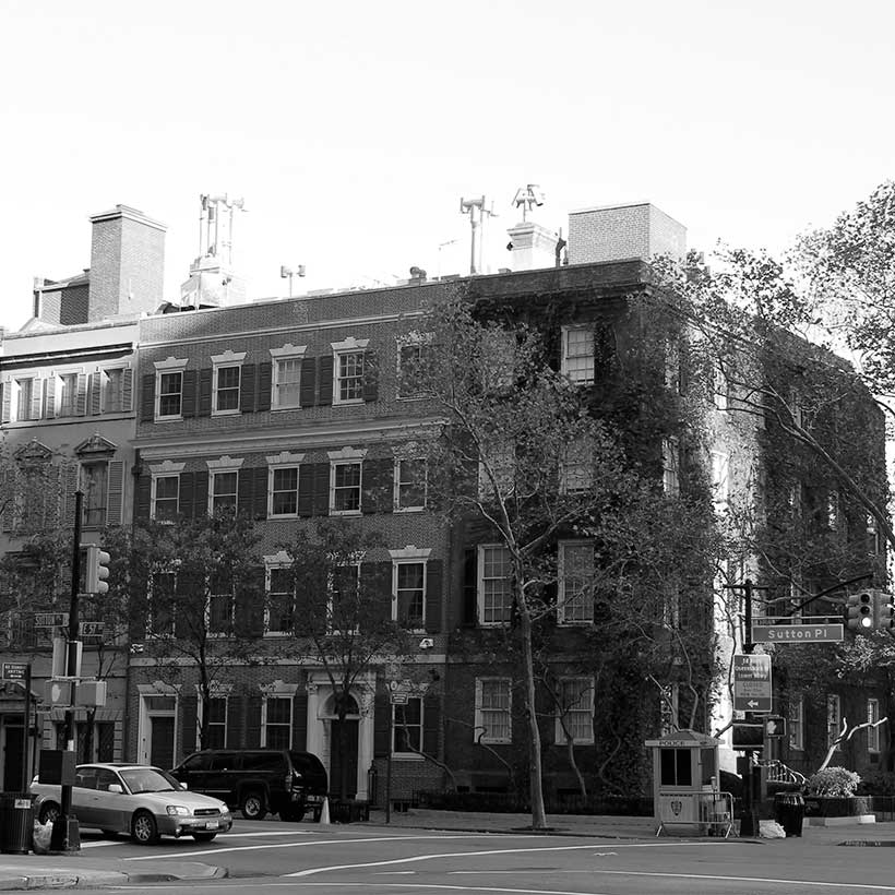 The Sutton Place neighborhood of Manhattan. Photo: Wikimedia Commons, Patrick Nouhailler.