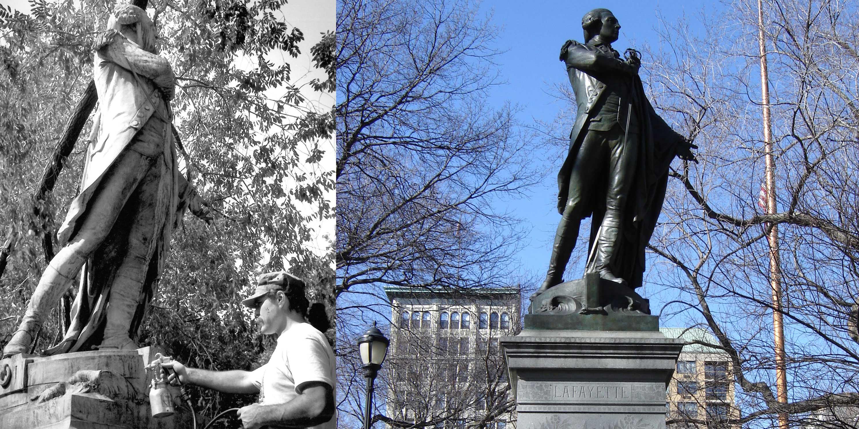 Marquis de Lafayette Monument