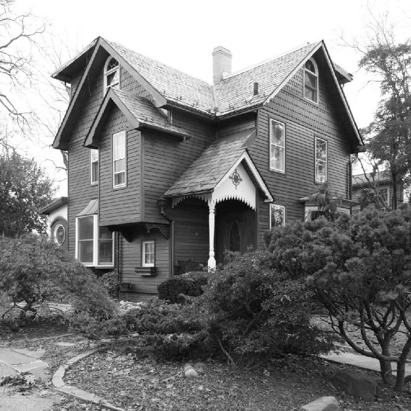 The Samuel H. and Mary T. Booth House on City Island in the Bronx. Photo: New York City Landmarks Preservation Commission.