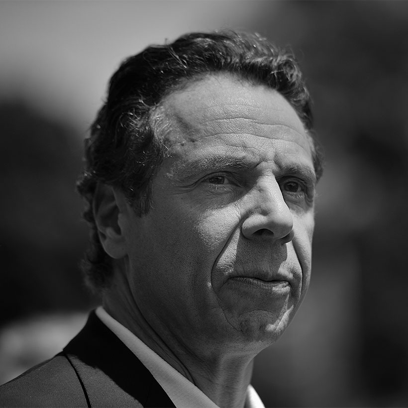 Governor Andrew Cuomo delivers remarks at the start of the Little Neck Douglaston Memorial Day Parade on Monday, May 26, 2014. Photo: Wikimedia Commons, Diana Robinson.
