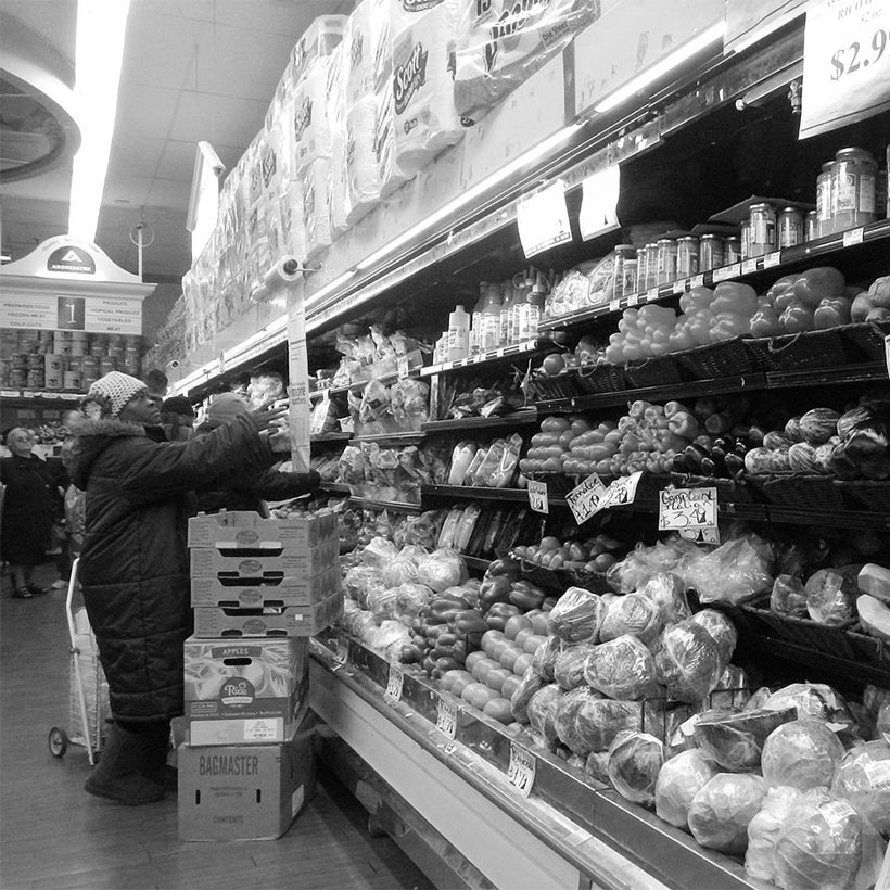 The Associated Supermarket in East Harlem. Photo: Wikimedia Commons, Jim Henderson.