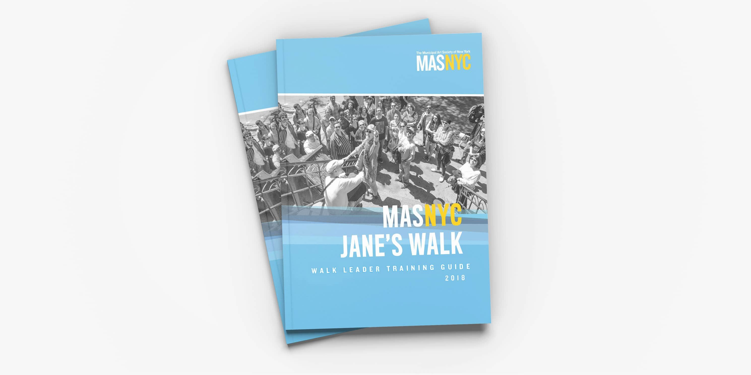cover of Jane's Walk 2018 Leader Guide