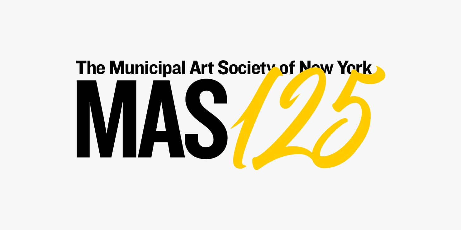 Municipal Art Society of New York 125th Anniversary logo