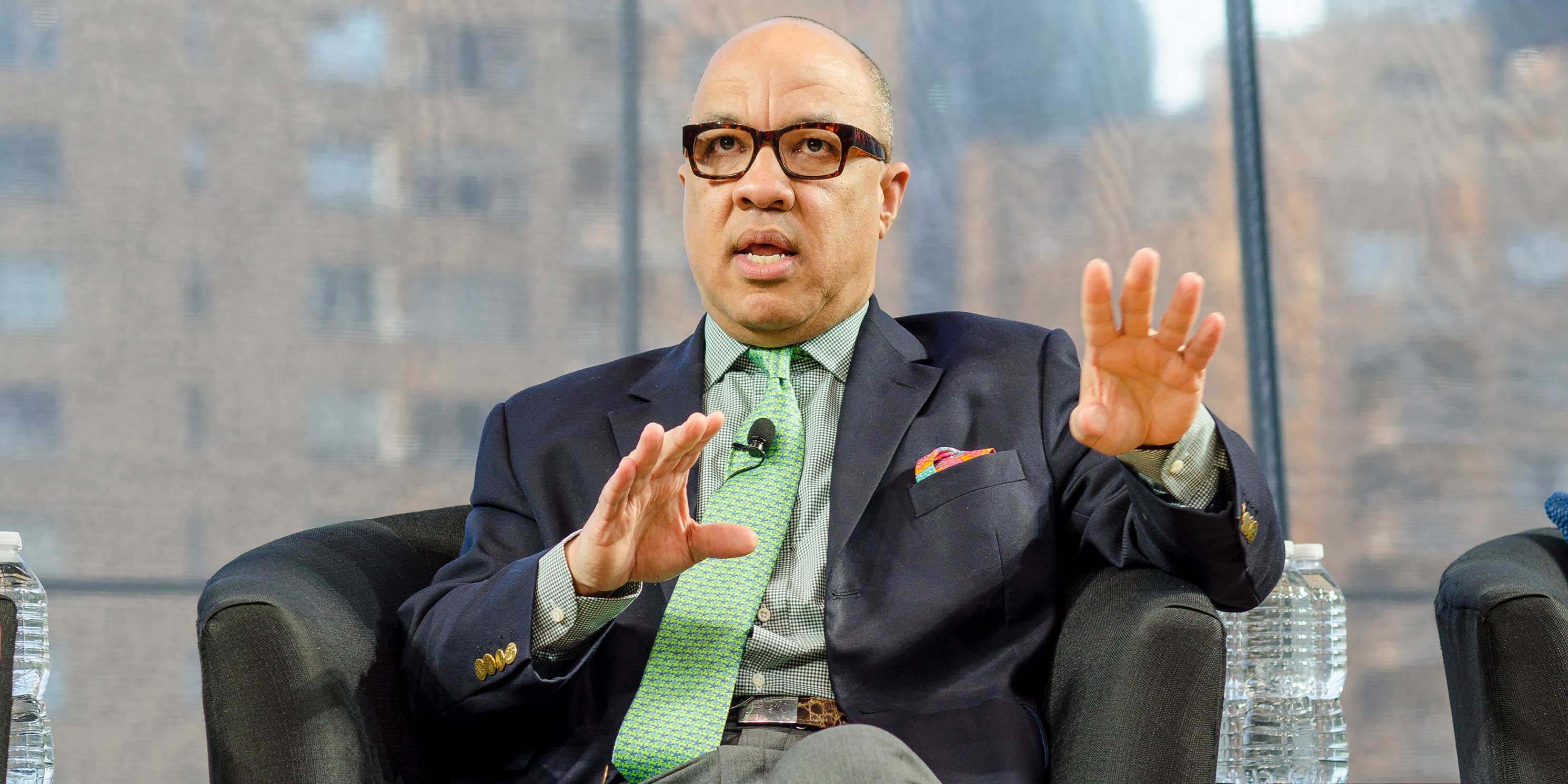 Darren Walker speaking at the 2013 Summit