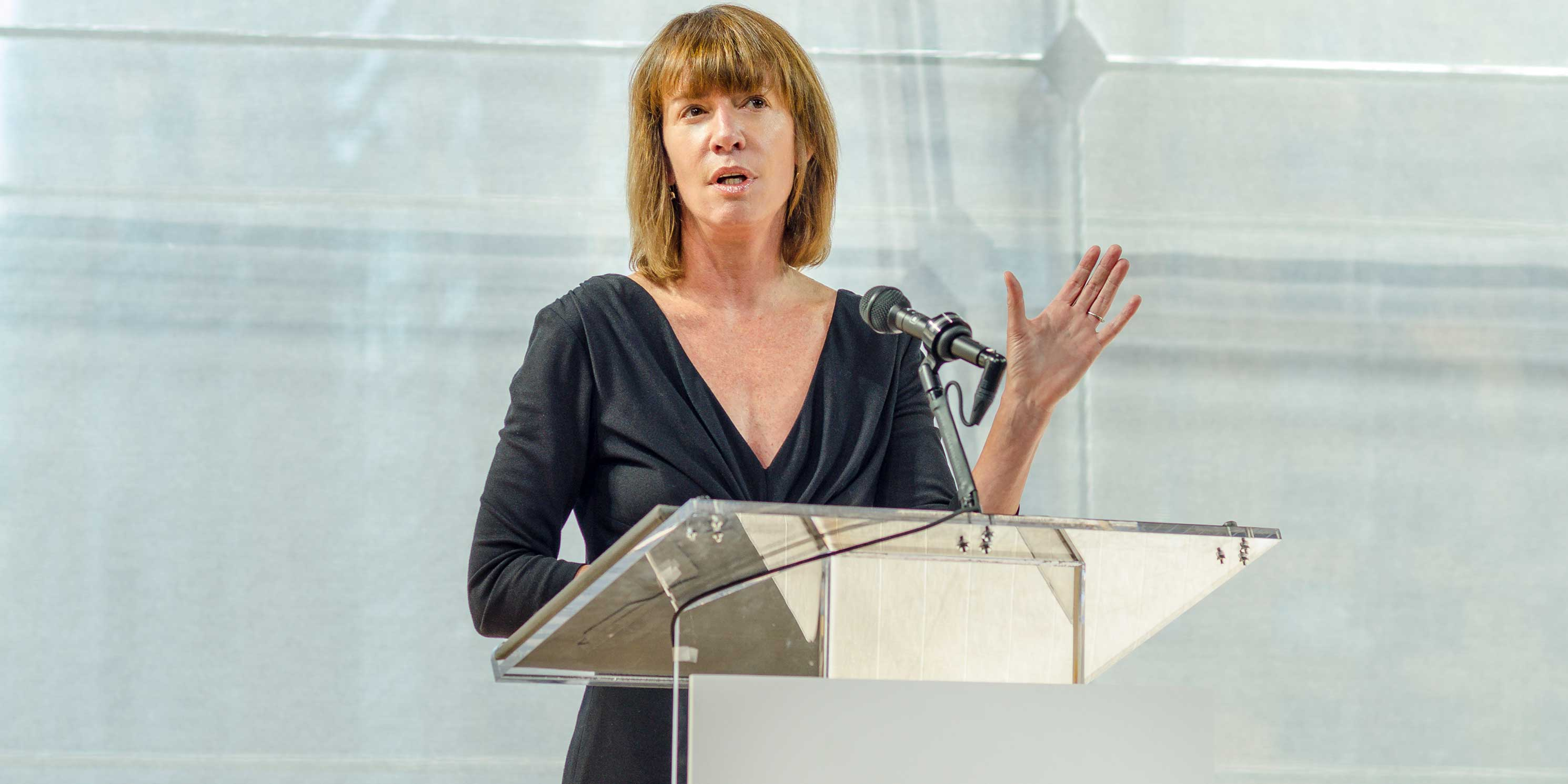 Janette Sadik-Khan speaking at the 2013 Summit
