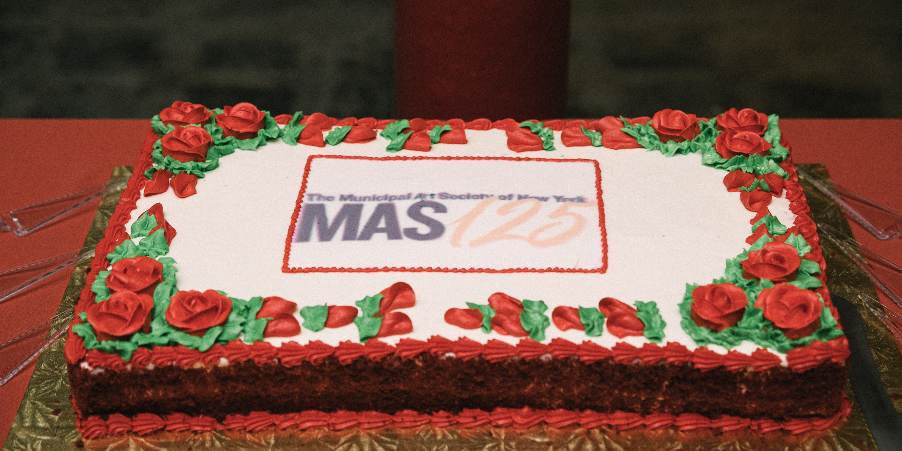 cake for 125th anniversary at the Celebrating the City reception