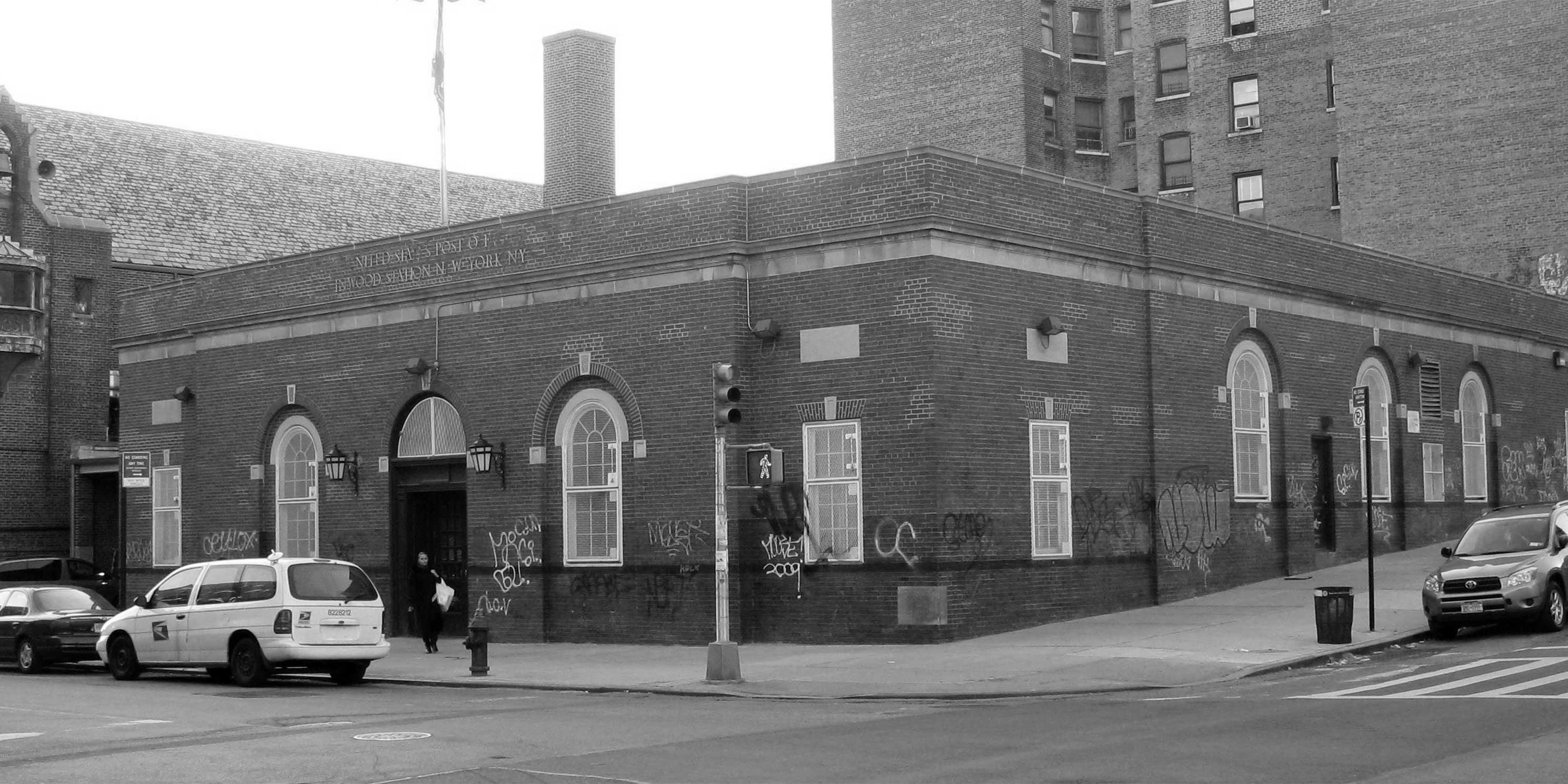 The Inwood Post Office. Photo: Wikimedia Commons, Americasroof.