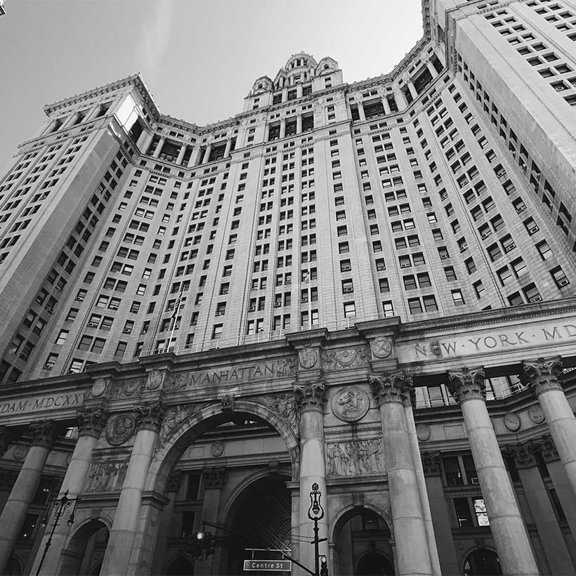 The David N. Dinkins Manhattan Municipal Building. Photo: Wikimedia Commons, Ningyuan Hu.