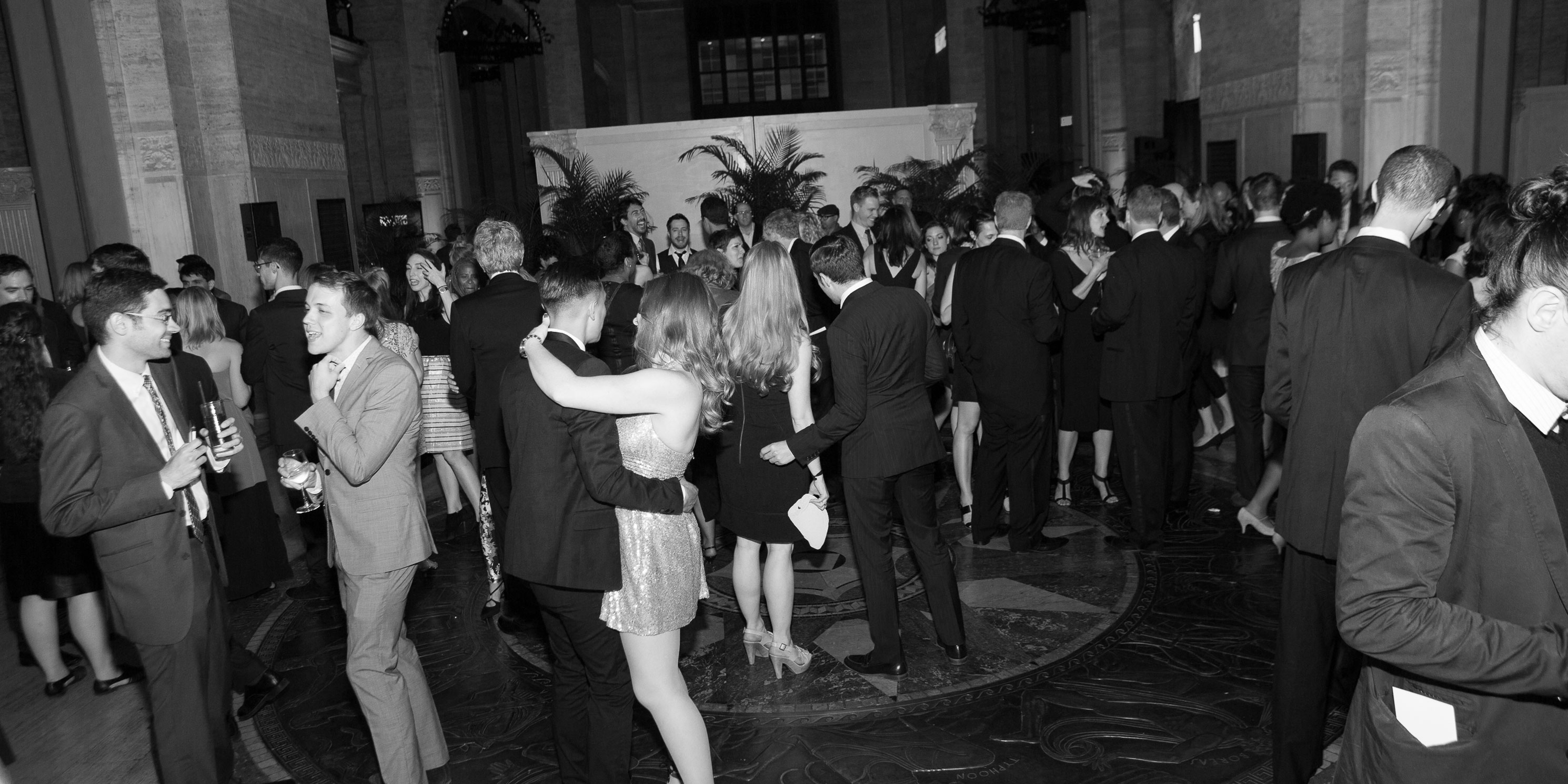 people dance at the Gala