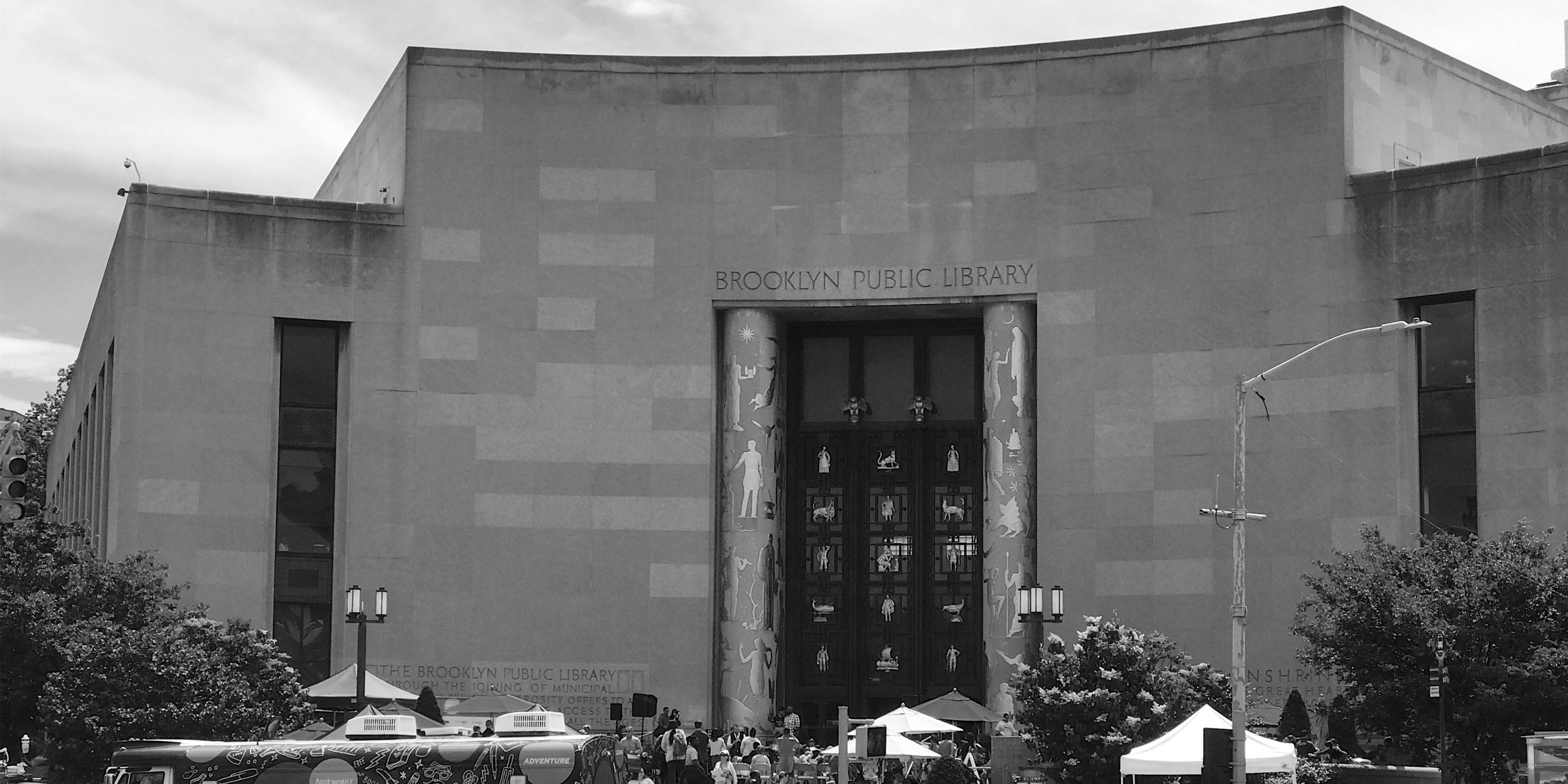 exterior of the Brooklyn Public Library