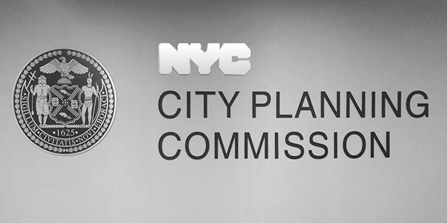 logo for the New York City Planning Commission