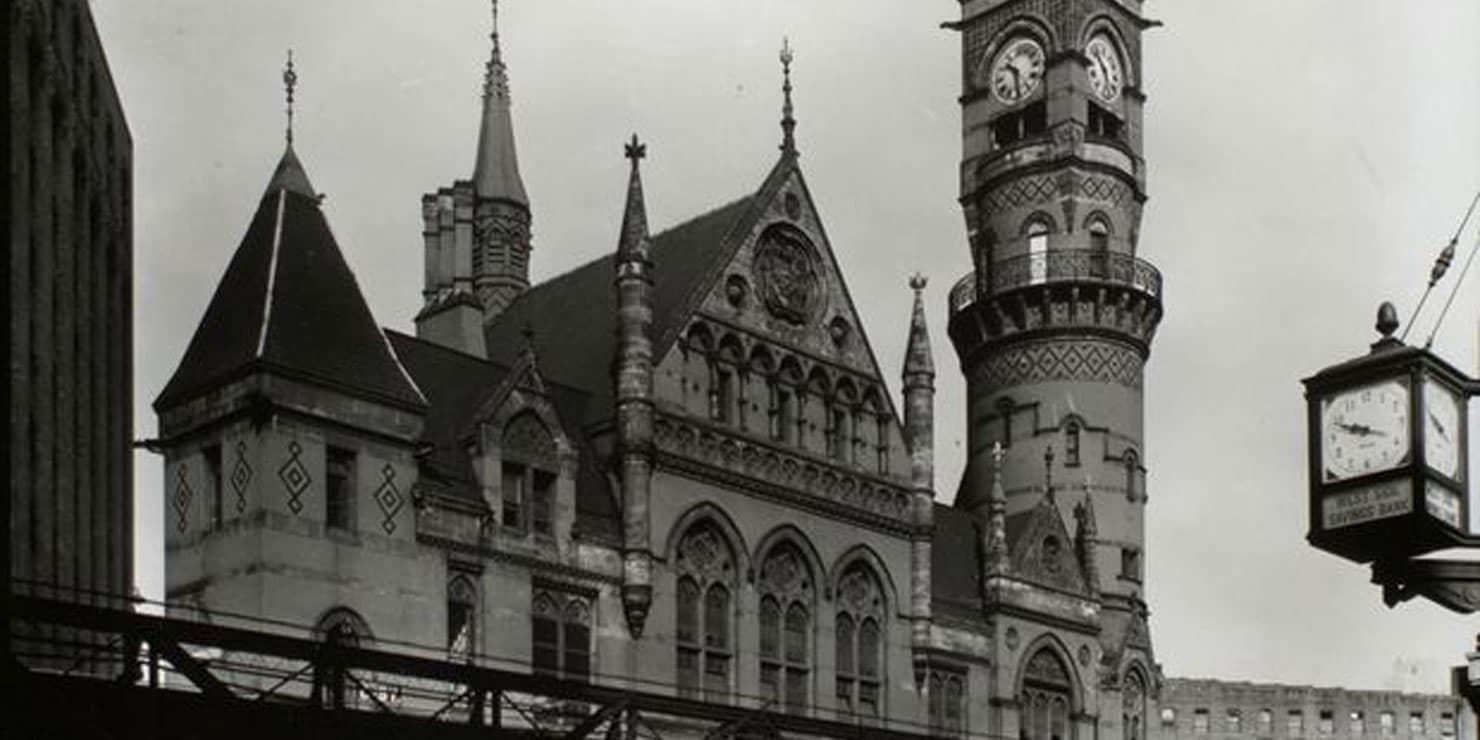 Exterior of the Jefferson Market Courthouse
