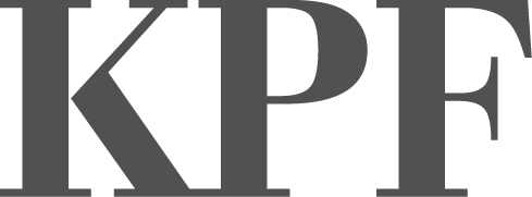 logo for the company KPF