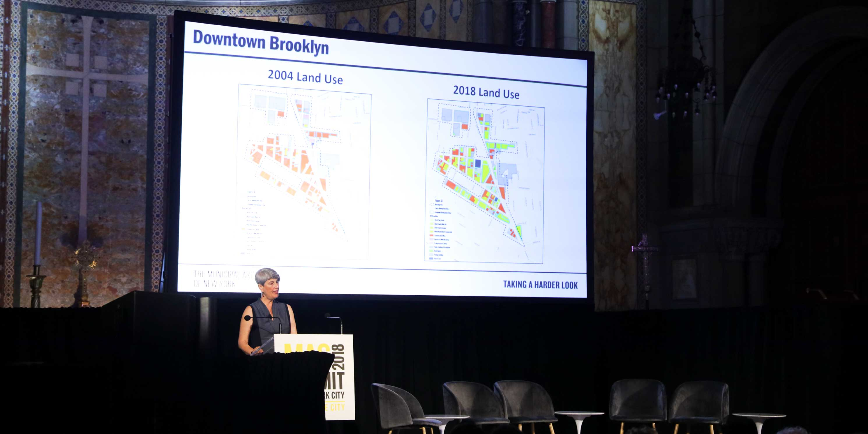 Elizabeth Goldstein speaks at the 2018 Summit