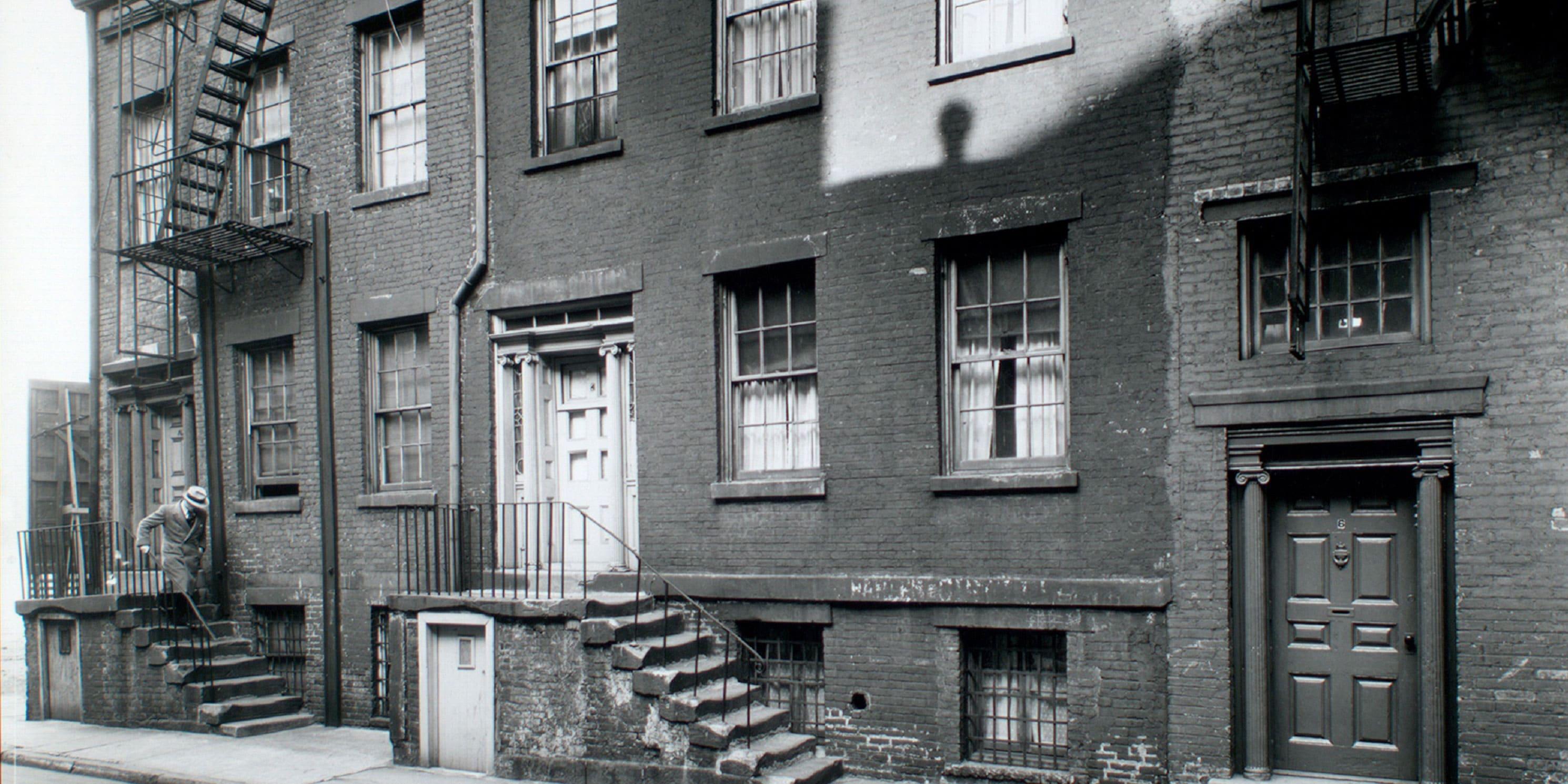 Minetta Street in 1935