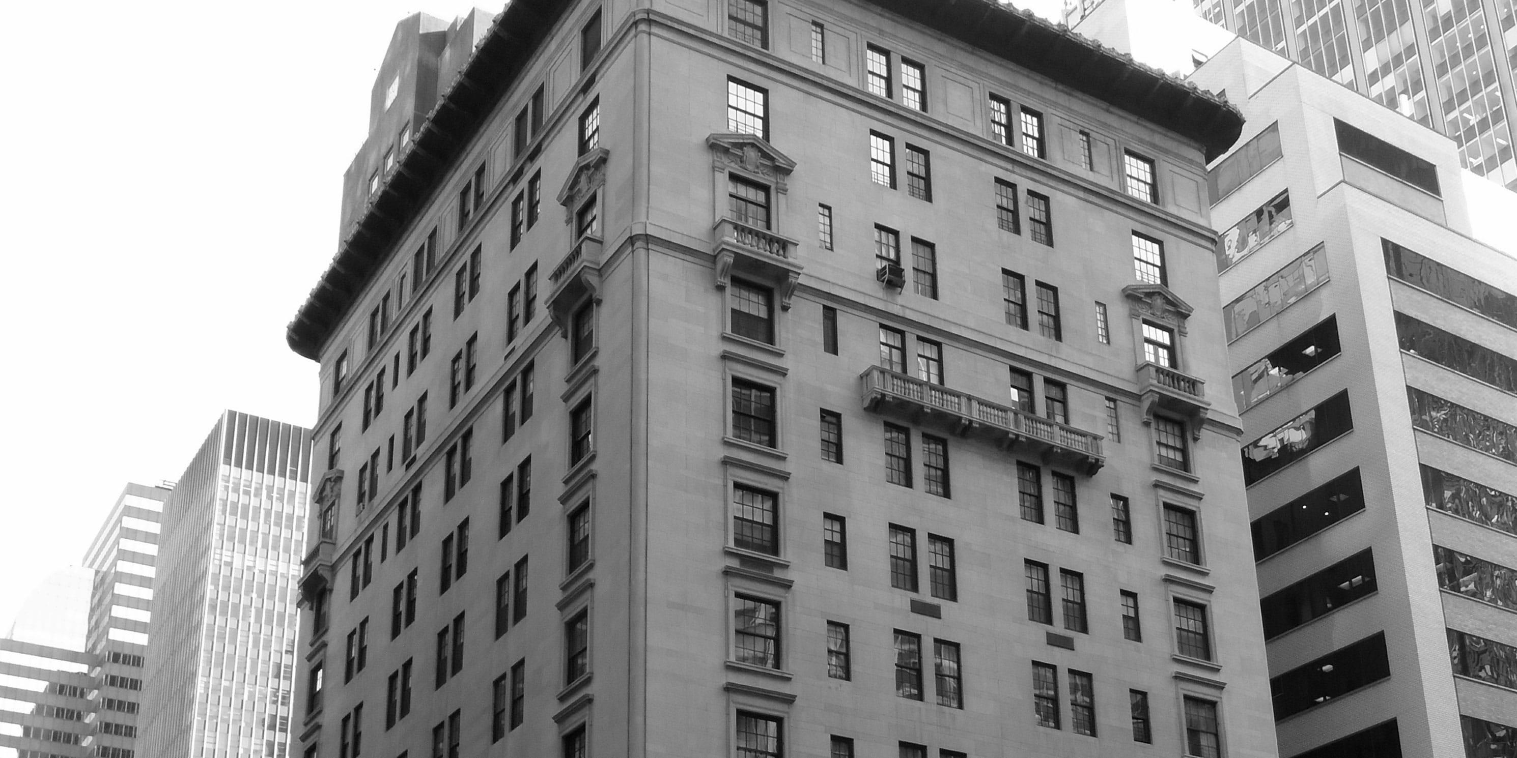 exterior of 417 Park Avenue