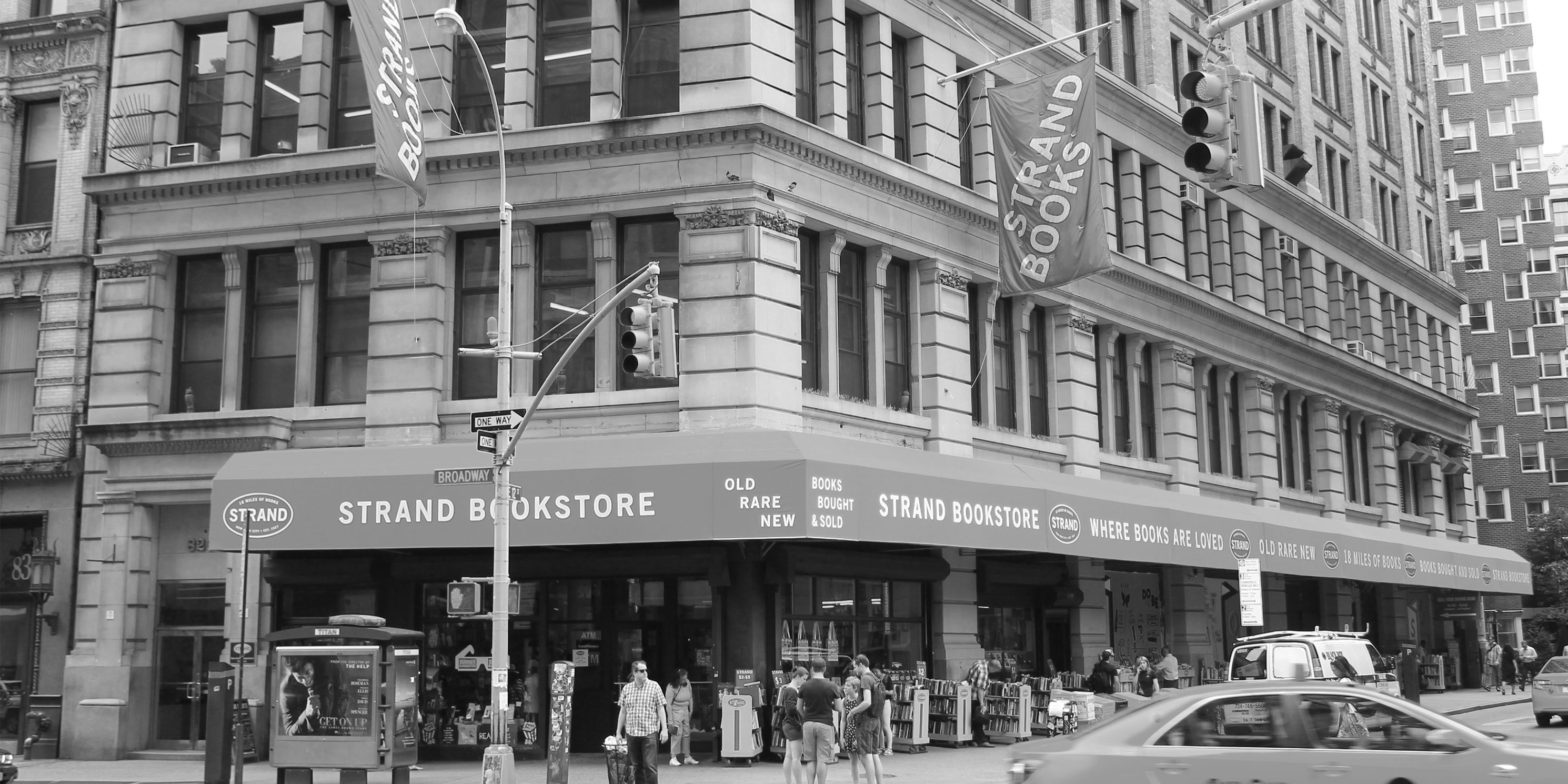 826 Broadway, The Strand Bookstore. Photo: Wikimedia Commons, Brianne.sperber