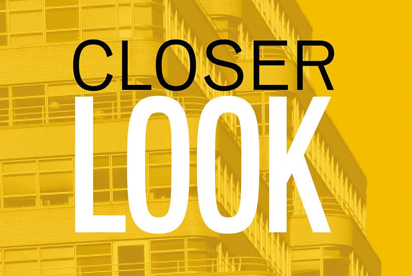 advertisement for Closer Look series