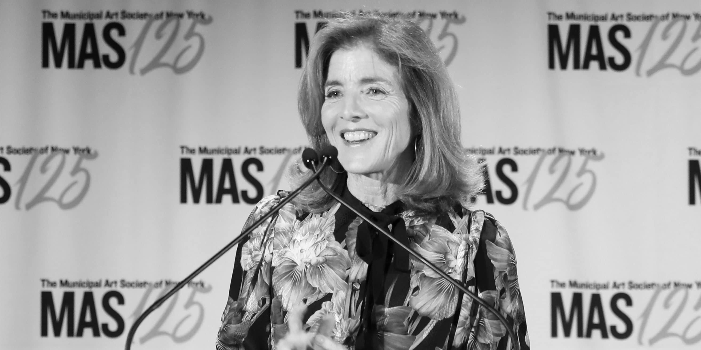 Caroline Kennedy speaks at the 2018 Gala