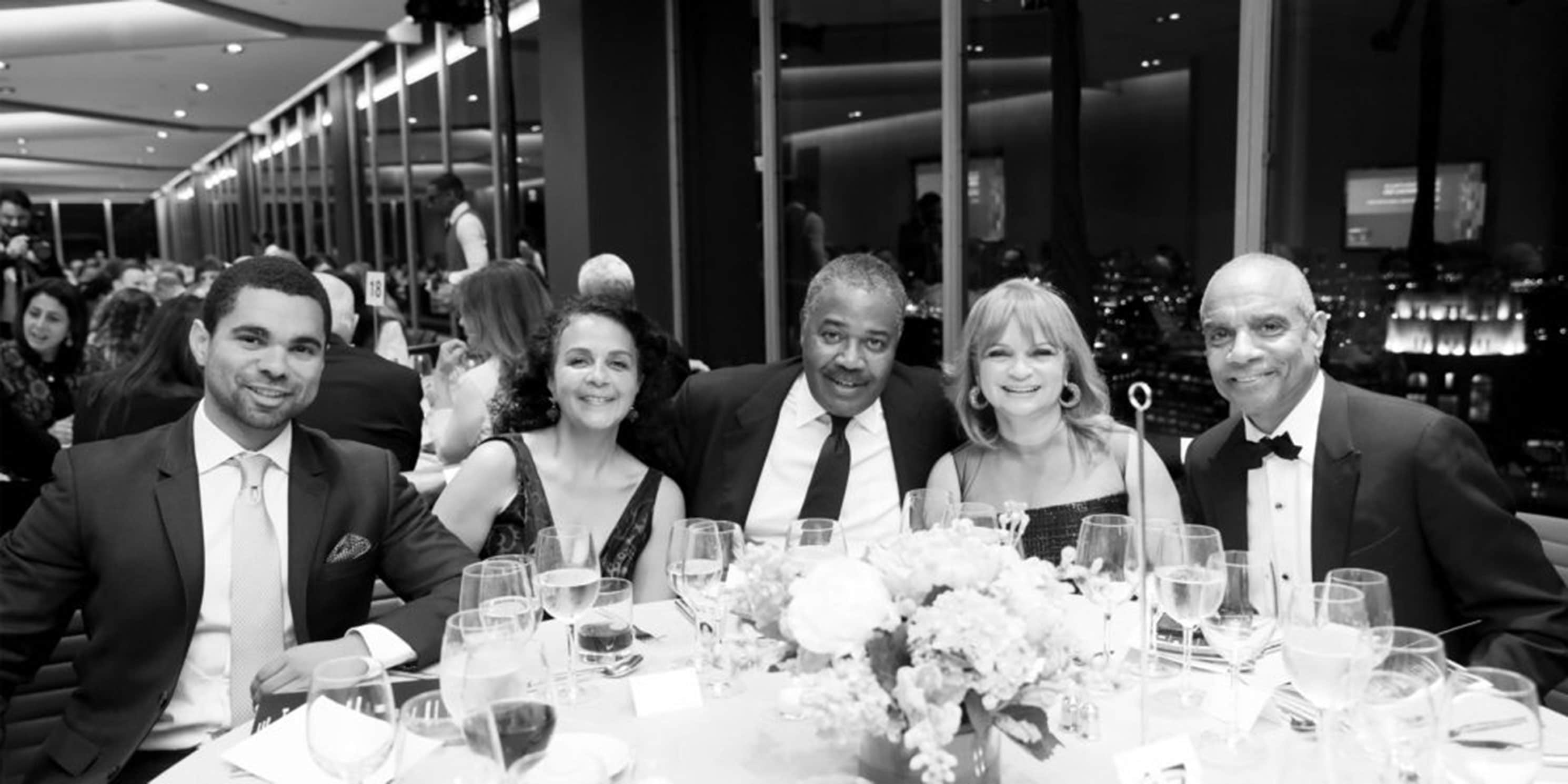 Kevin Chenault, Carol Sutton Lewis, William Lewis Jr., Kathryn Chenault, & Kenneth Chenault at 2018 Gala