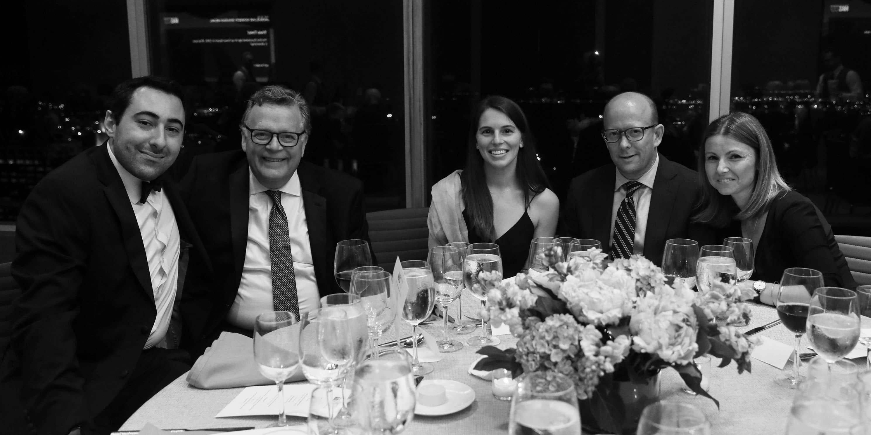 Pittas Eleftherios, Jack Klein, Caitlyn Dewitt, Chris McCartin, and Kimberly Garcia at the 2018 Gala