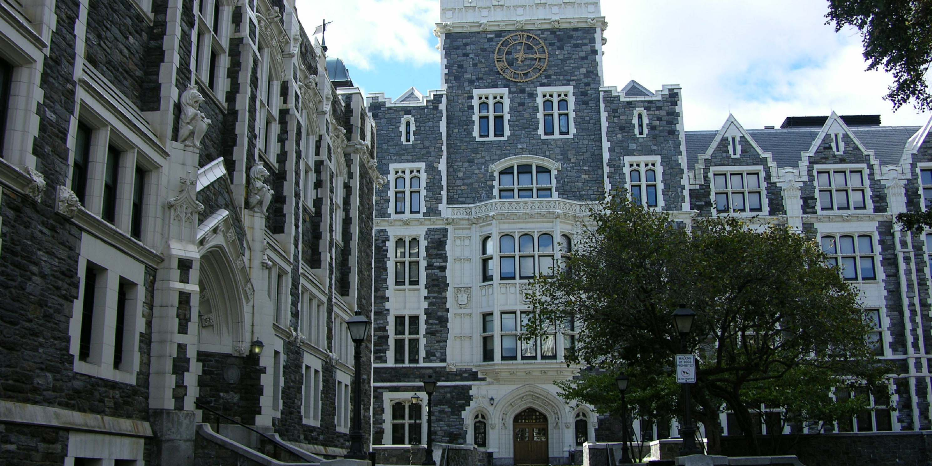 Exterior of City College buildings