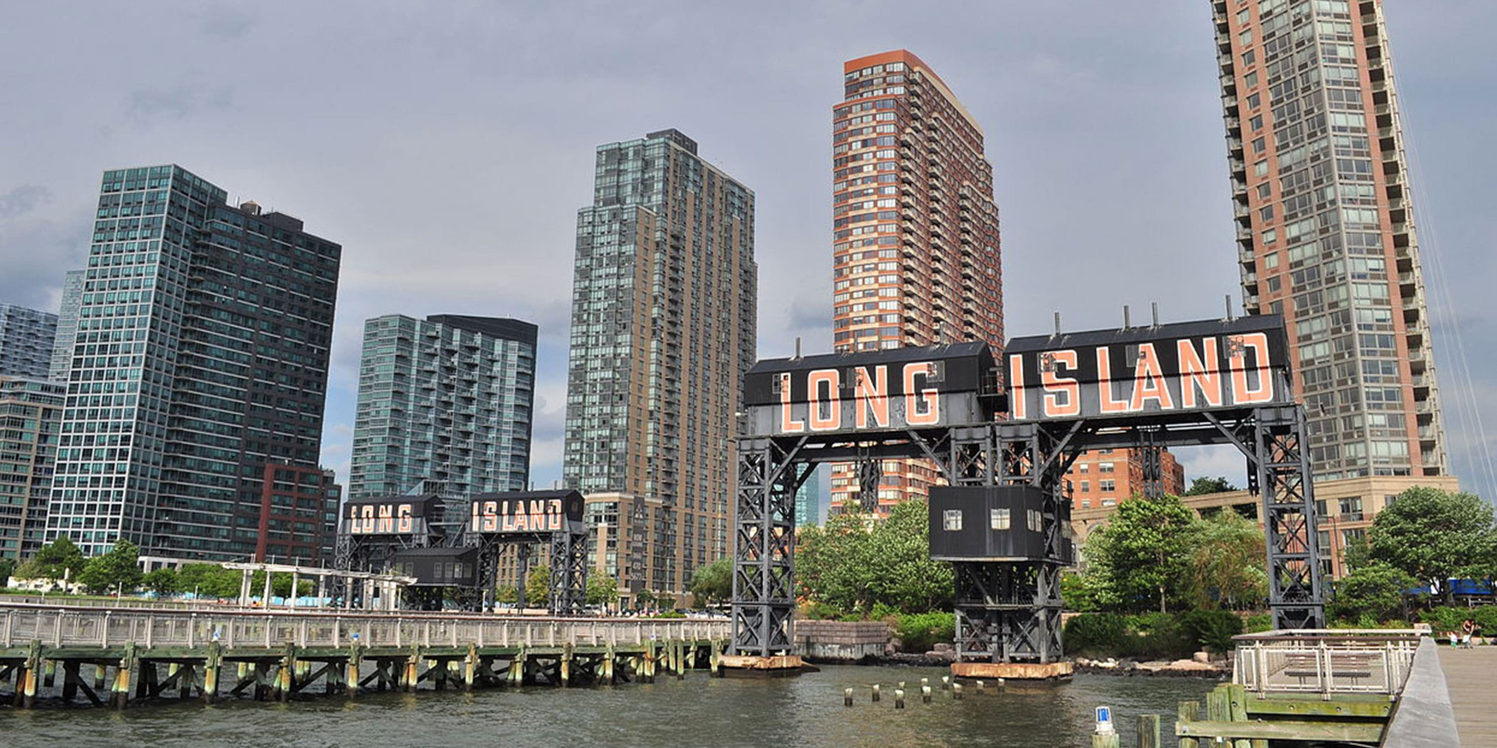 waterfront at Long Island City
