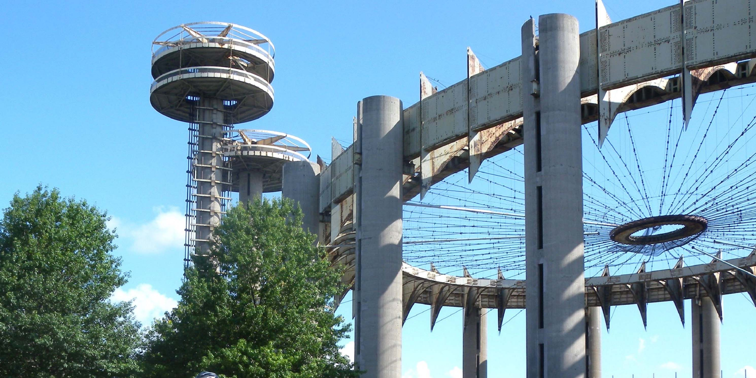 New York State Pavilion in Queens, built for the World's Fair