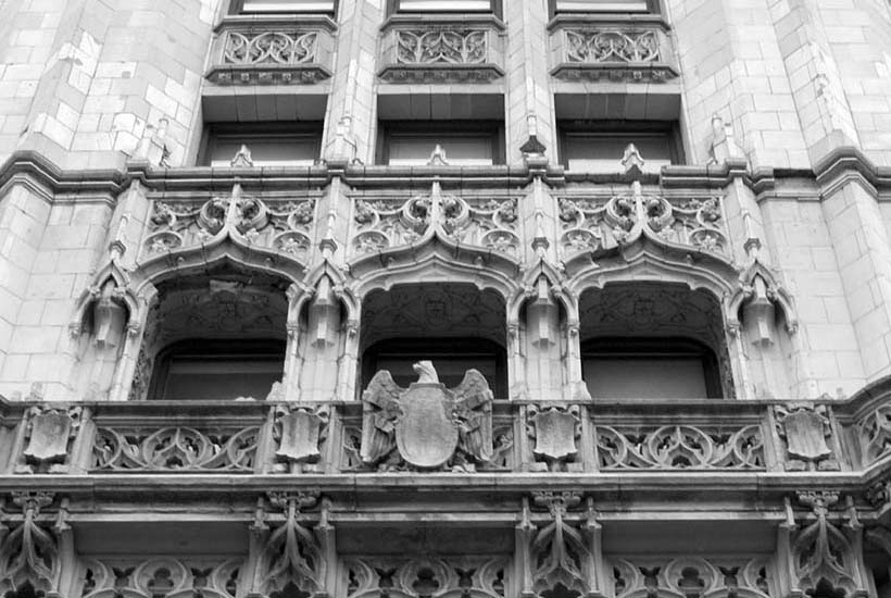 Terracotta exterior of the Woolworth Building