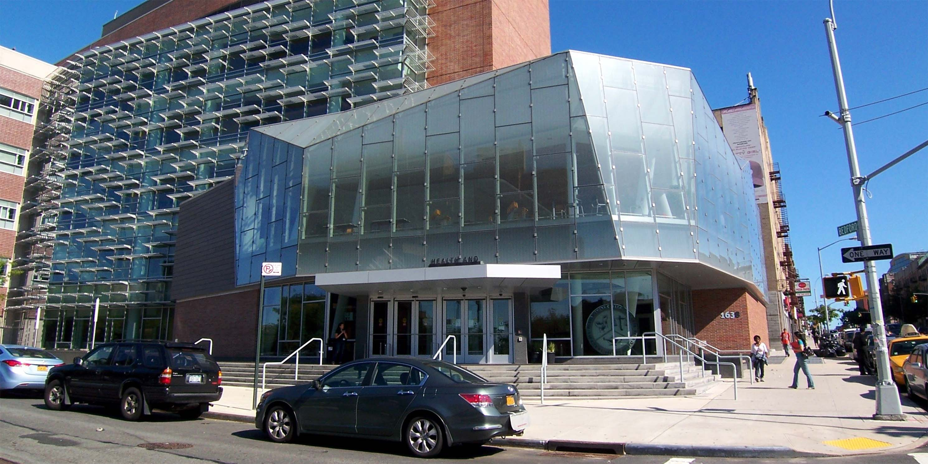 Street view of Medgar Evers College Building A