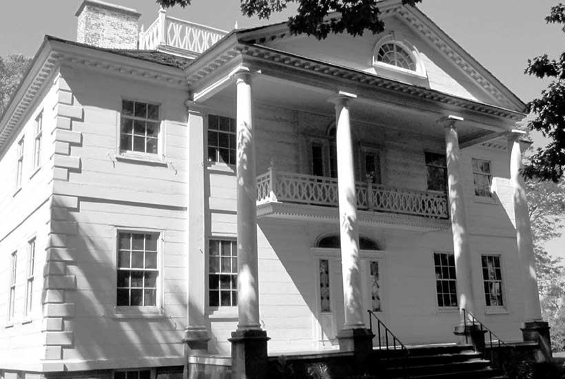 exterior of the Morris Jumel Mansion