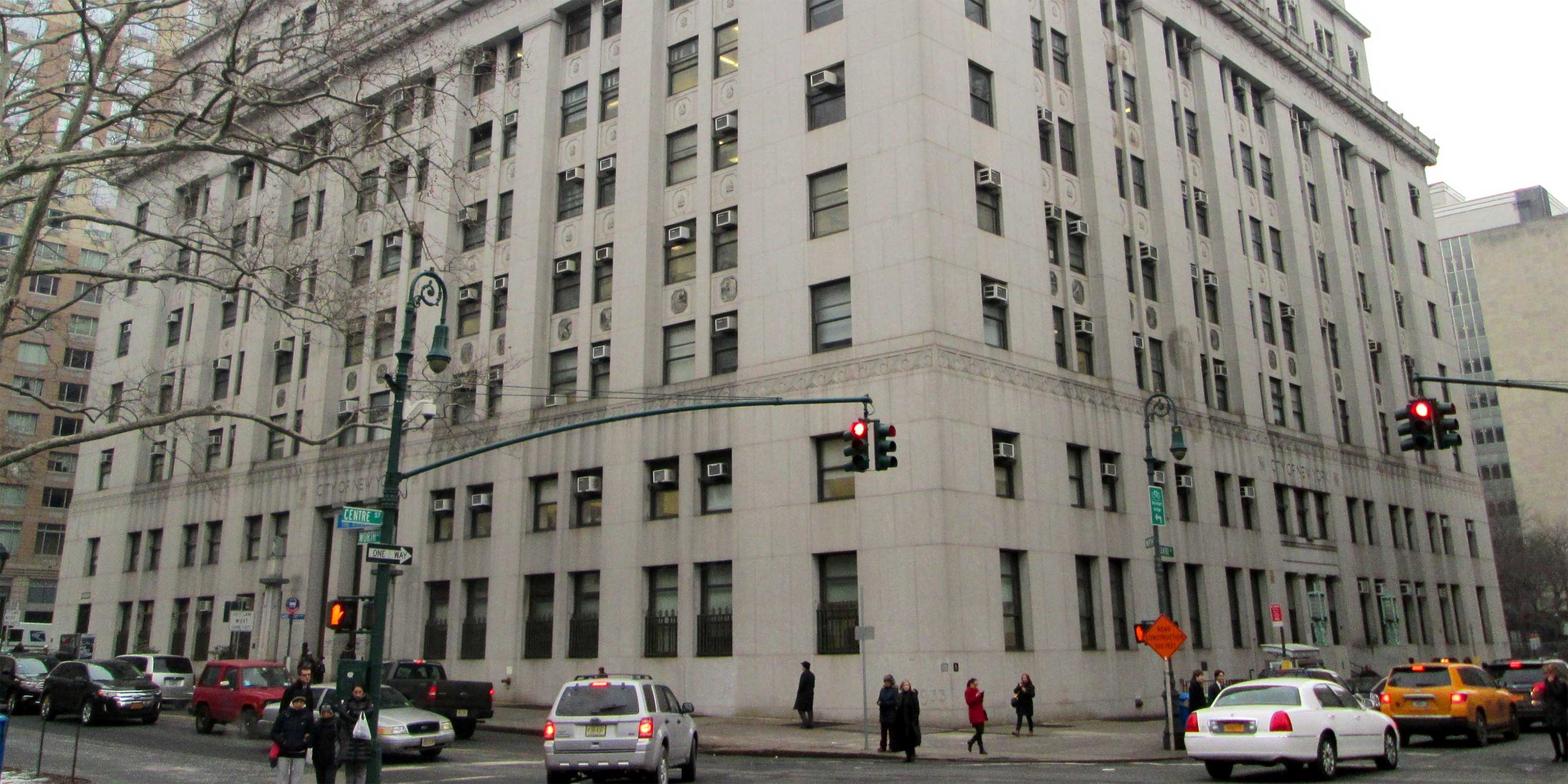 exterior of the Health Building at 125 Worth Street