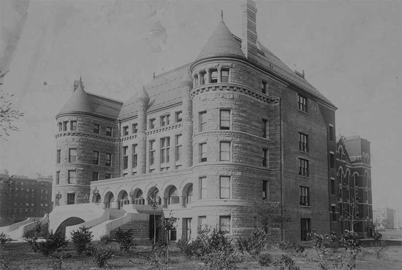 exterior, American Museum of Natural History, 1890s