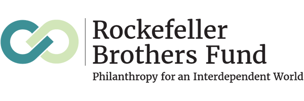 logo for the Rockefeller Brothers Fund