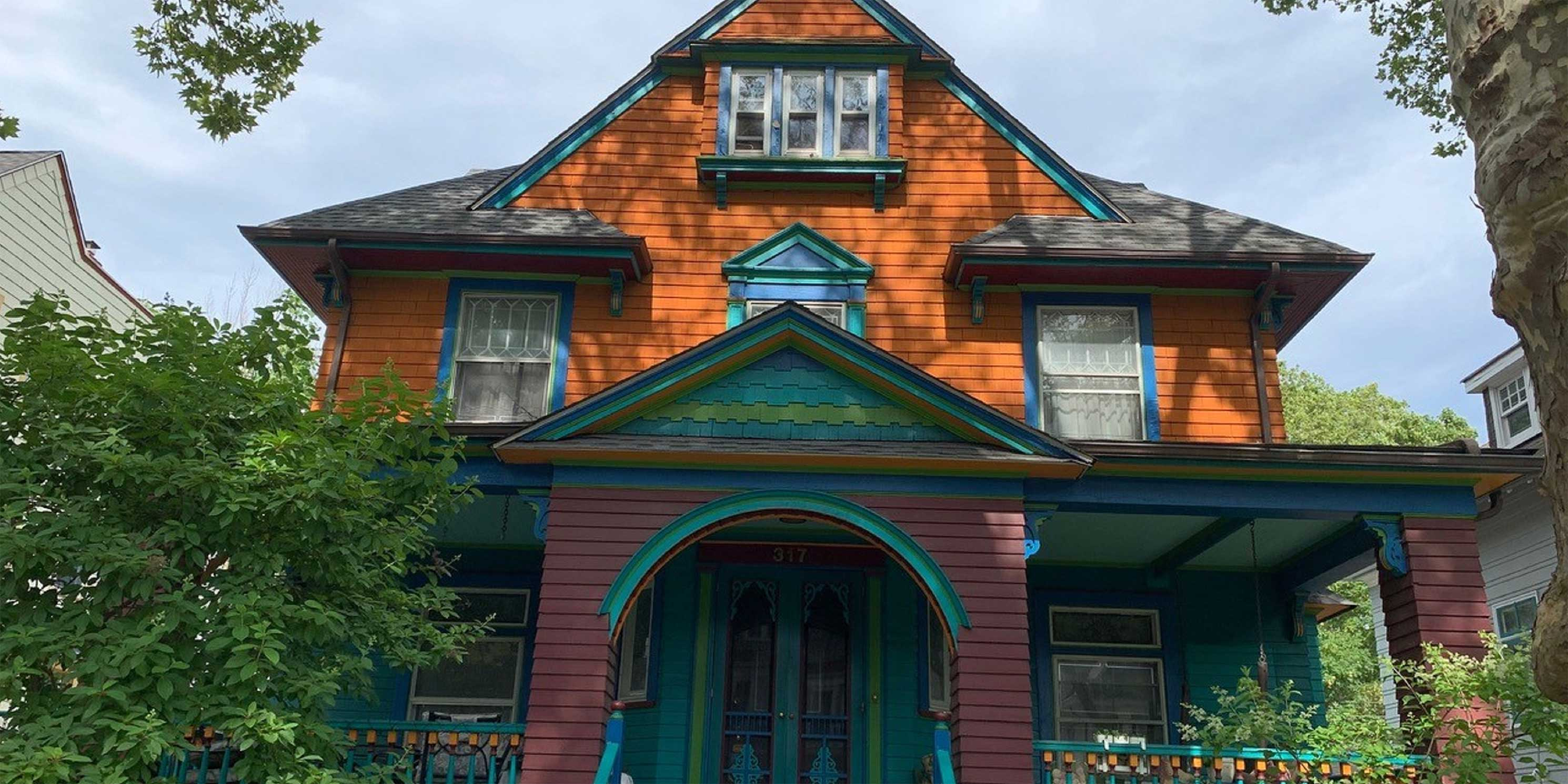 a Victorian home in Flatbush, Brooklyn