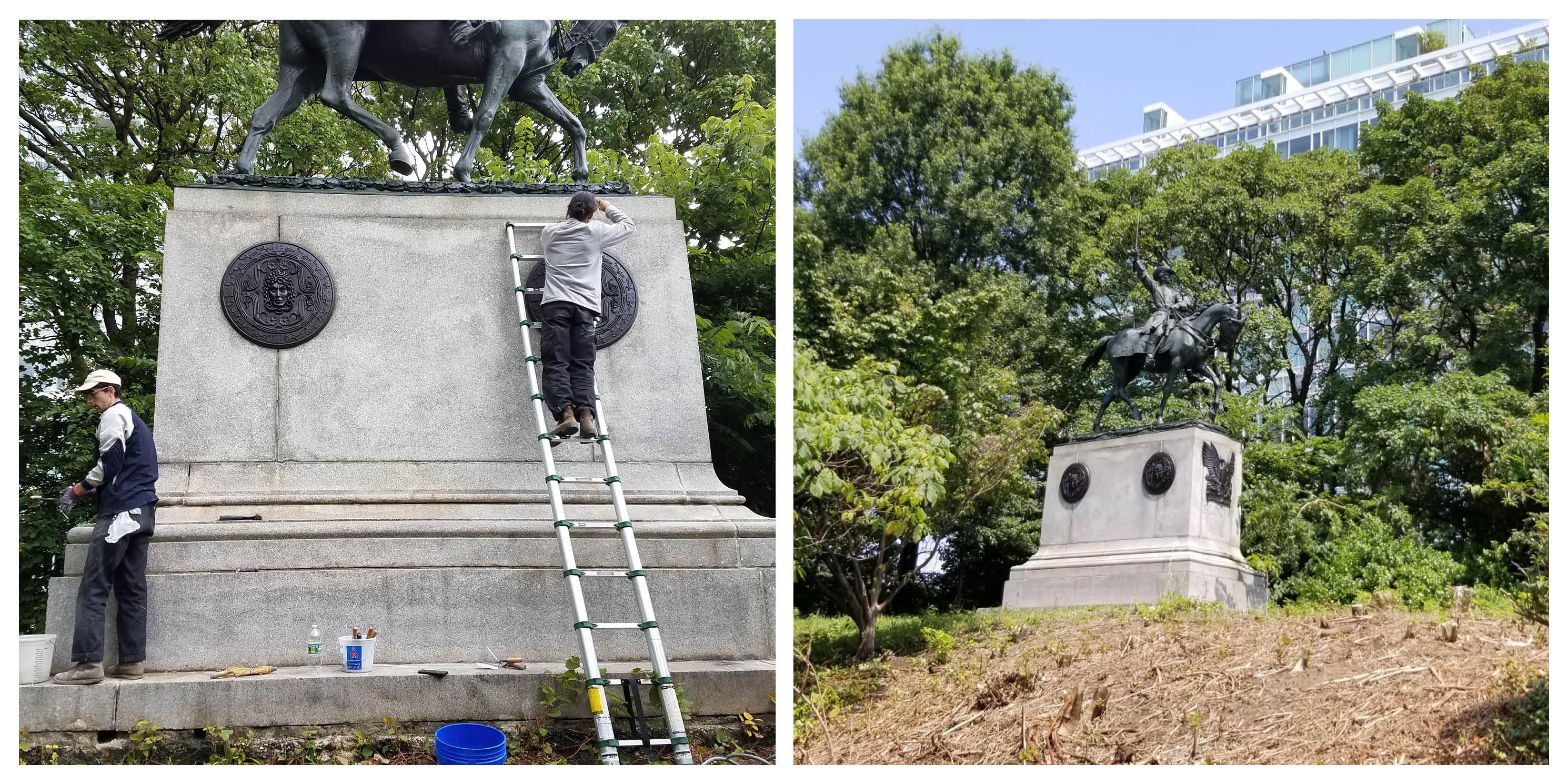 General Henry Warner Slocum statue