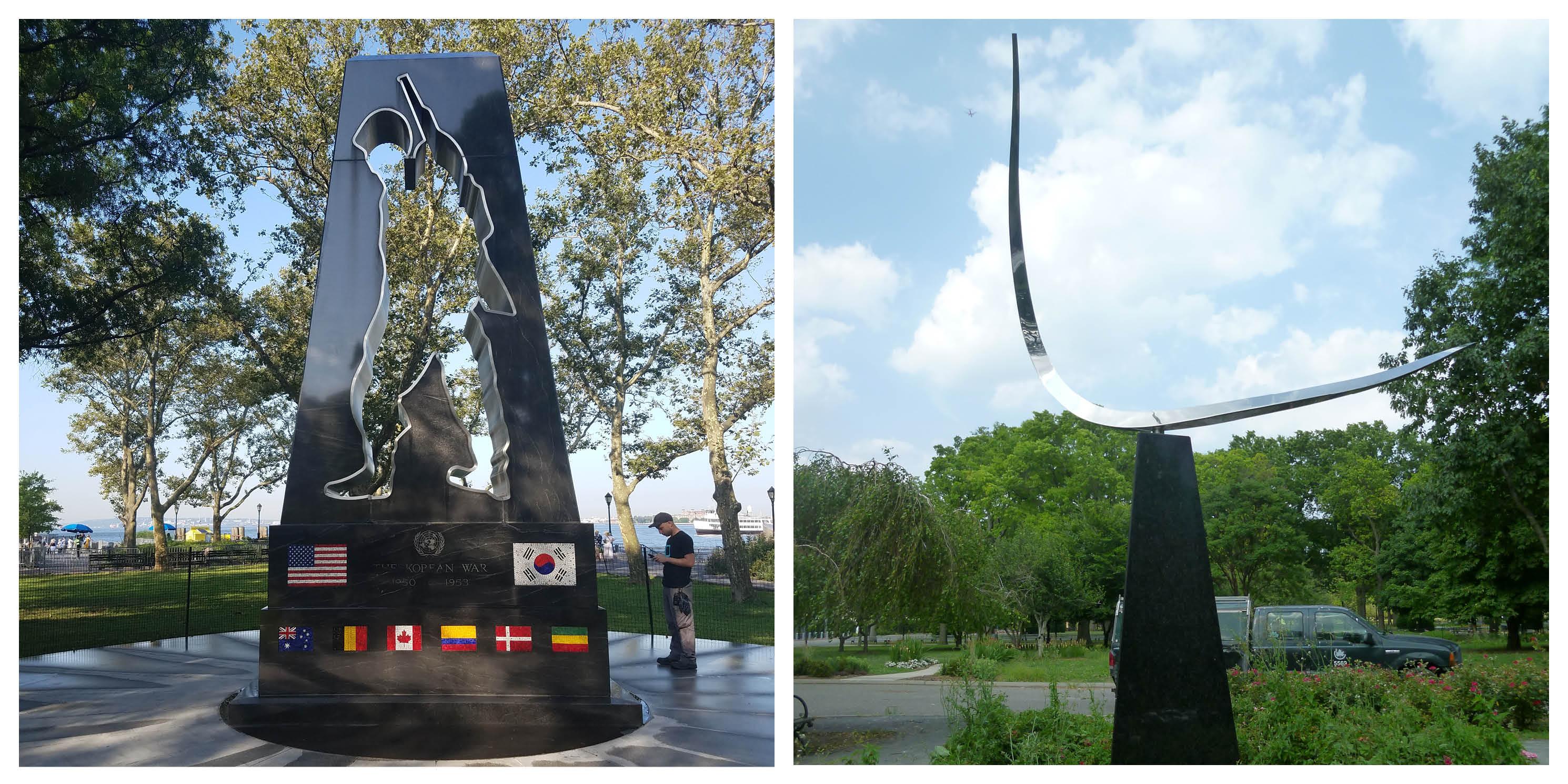 Korean Memorial and Free Form