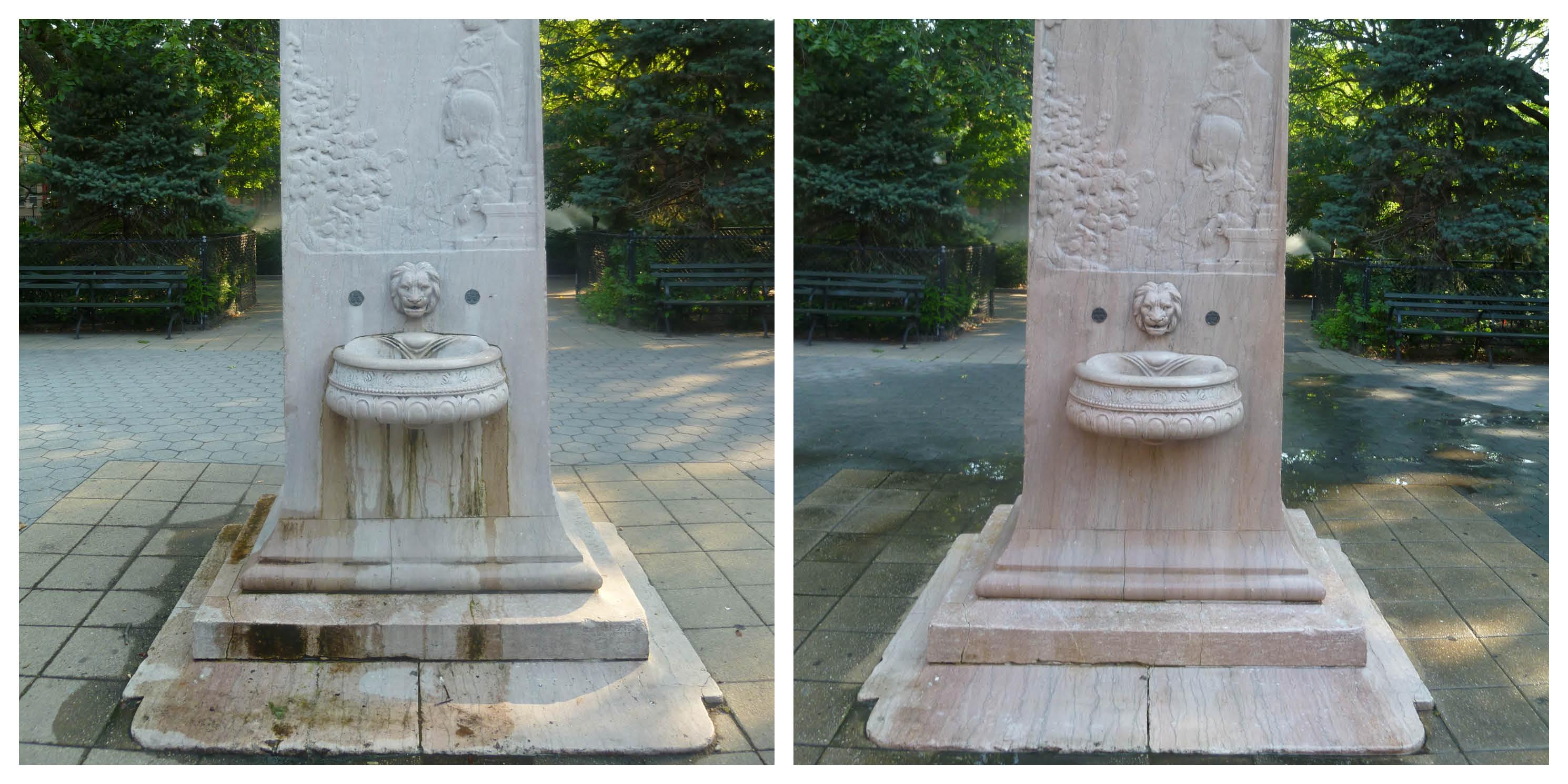 Slocum Fountain in Manhattan's Tompkins Square Park