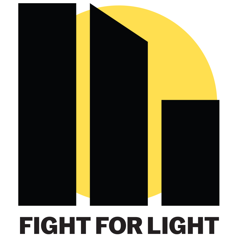 logo for the Fight for Light campaign