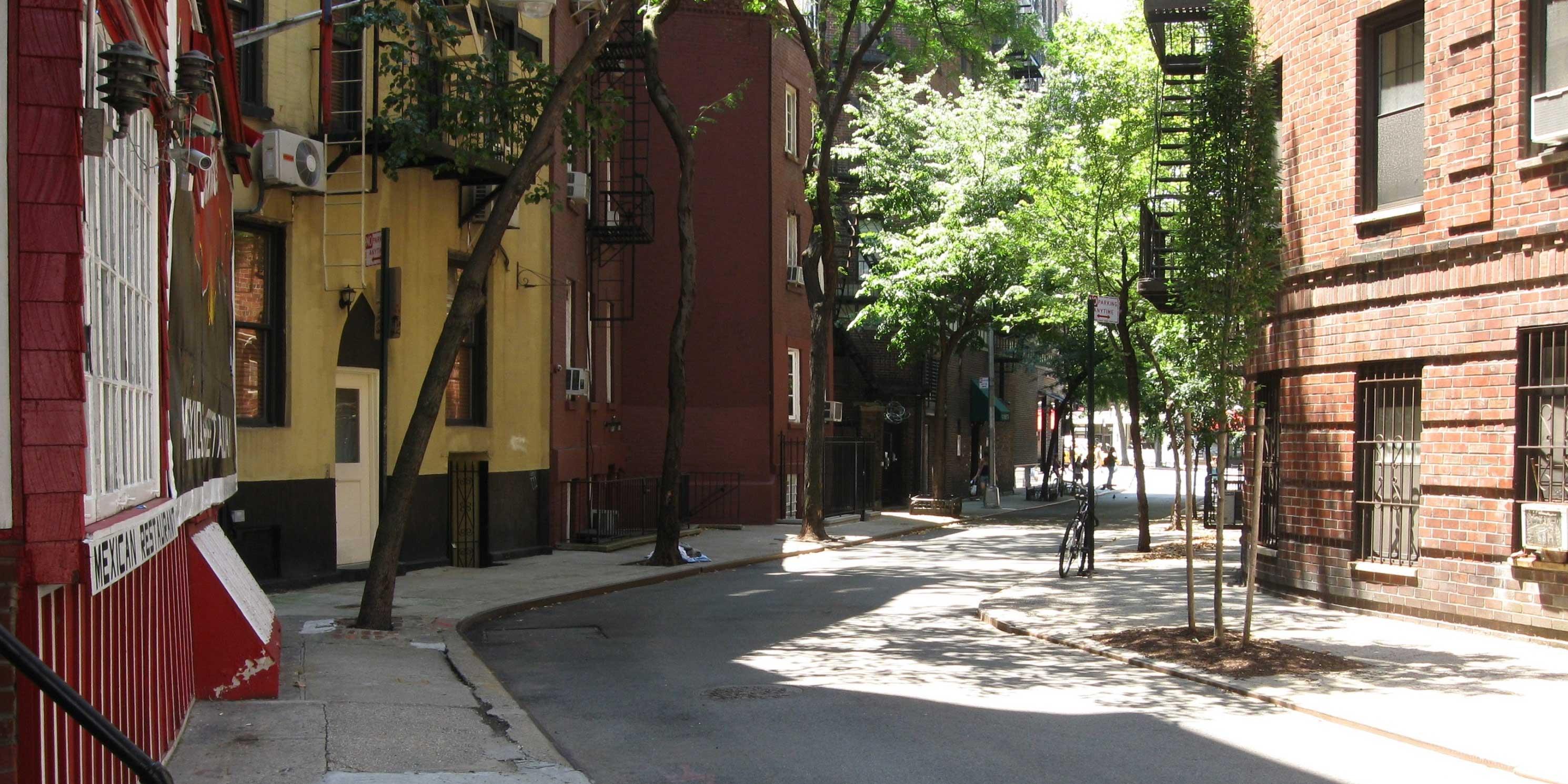 Minetta Lane in Greenwich Village