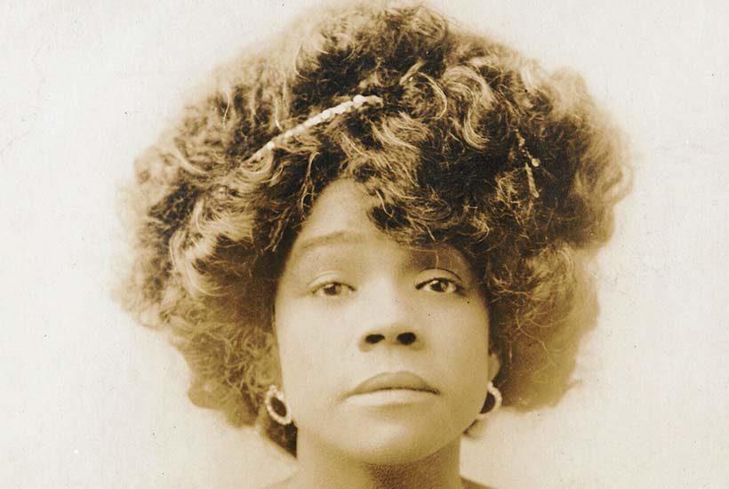 portrait of Aida Overton Walker