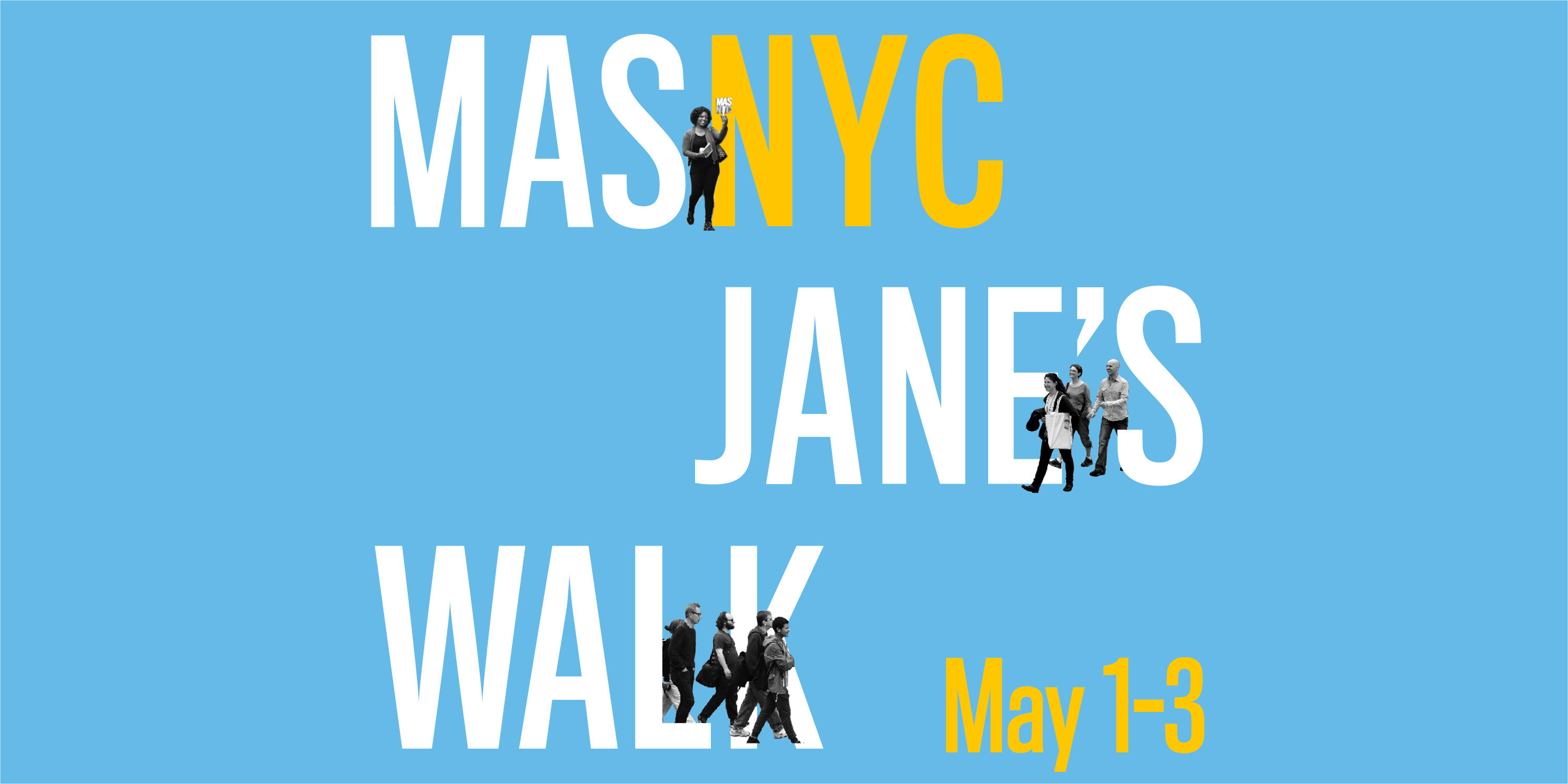 advertisement for Jane's Walk 2020